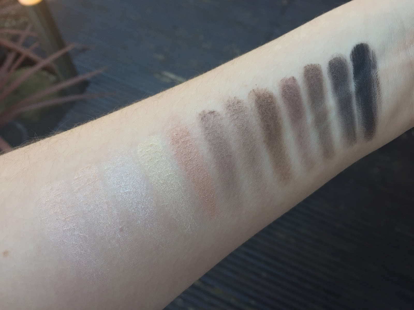 Makeup Revolution Iconic Elements Palette Swatched