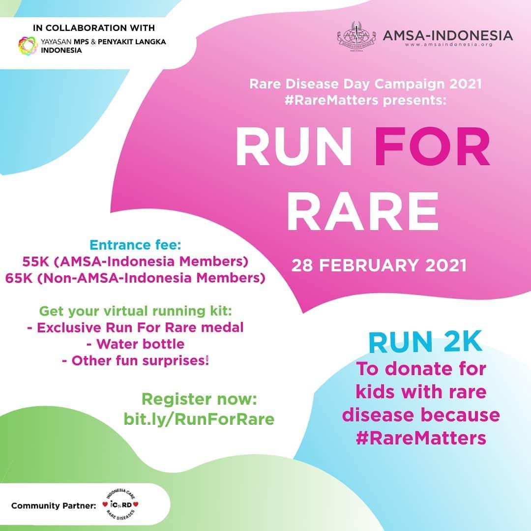 Run For Rare • 2021
