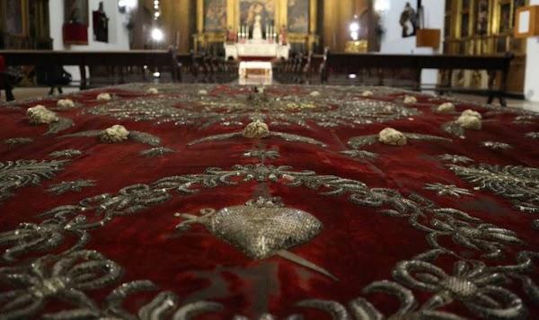 La restauración del palio del Valle de Sevilla en el IAPH asciende a casi 50.500 euros
