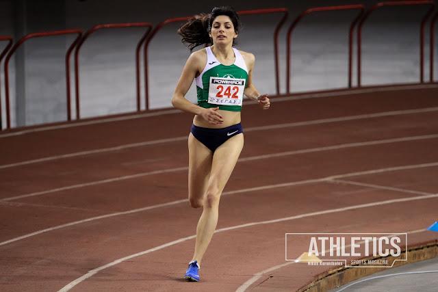 Χρυσό για τη Ναυπλιώτισσα Κωνσταντίνα Γιαννοπούλου στα 800μ