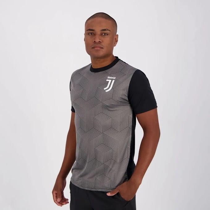 Camisa Juventus Trace Preta
