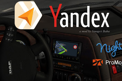 Yandex Navigator Night Version for ProMods v1.3