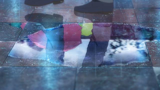 Imagem-anime-Flavors-of-Youth-poça-de-água