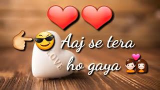 Aaj Se Teri Whatsapp Status Love Video