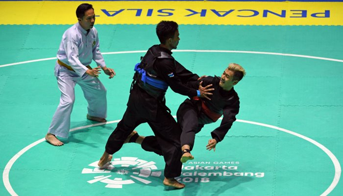 Final Pencak Silat Asian Games 2018