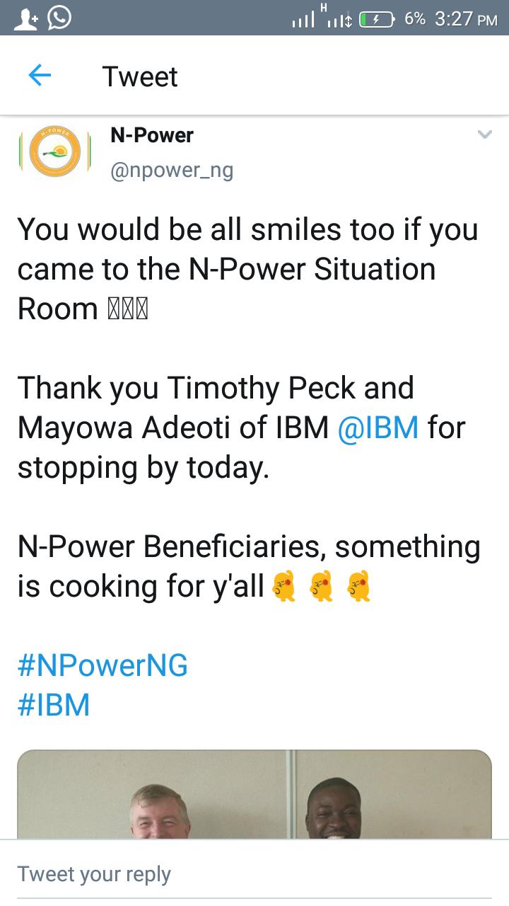 N-POWER HITS VOLUNTEERS ONCE MORE TODAY
