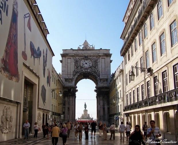 Lisbona, Rua Augusta
