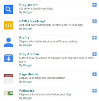 Add HTML to Blogger template.