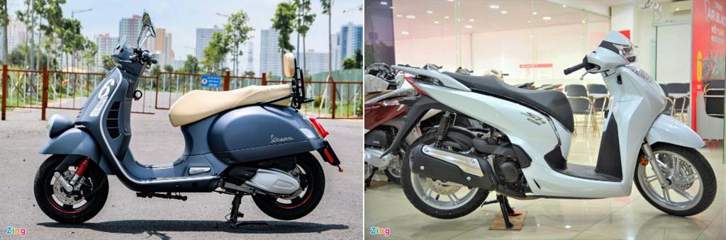 Rẻ hơn 80 triệu, Vespa Sei Giorni II có đủ sức đe dọa Honda SH 300i?