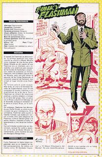 Funky Flashman ficha DC comics