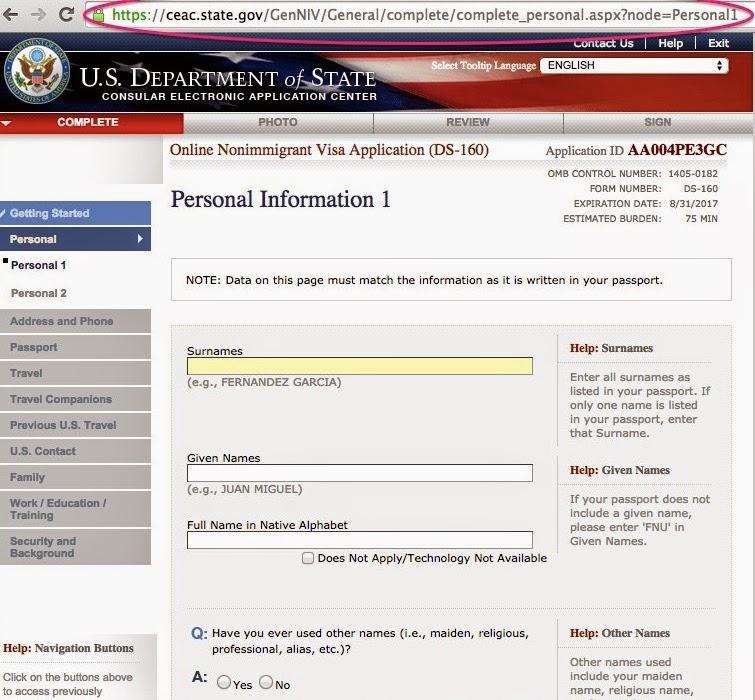 Screen%2BShot%2B2015-01-22%2Bat%2B12.56.16  Nonimmigrant Visa Application Form Ds on