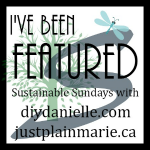 http://www.diydanielle.com/search/label/Sustainable%20Sundays%20Link%20Party
