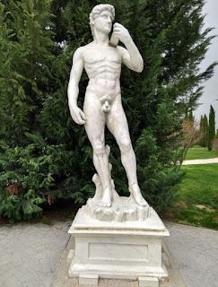 Torrejón de Ardoz, Parque Europa. El David de Miguel Ángel.
