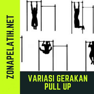 11 Variasi Latihan Pull Up zonapelatih