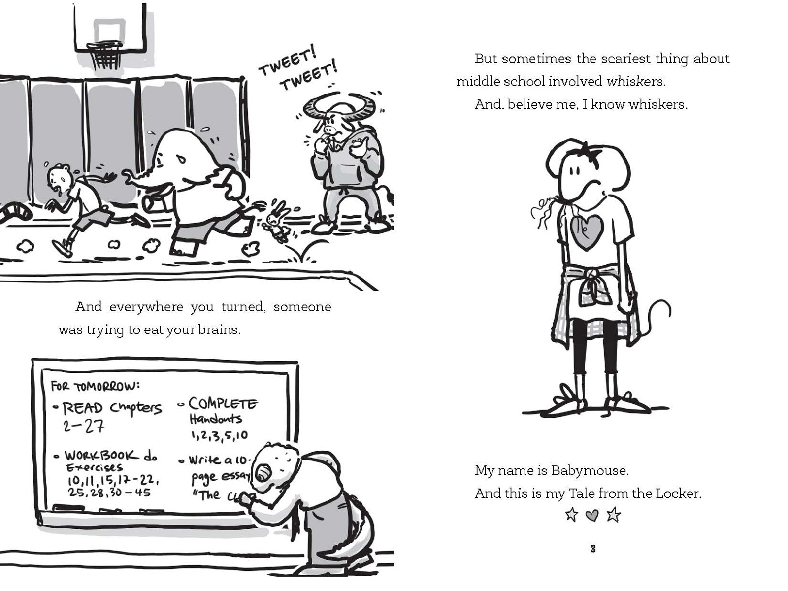 Lights, Camera, Middle School! Babymouse: Tales from the
