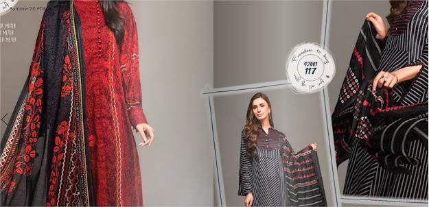 Nishat Linen Summer FTB Collection