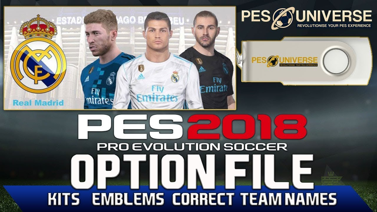 Ntapz! PES 2018 PC Option File Update All Version Terbaru