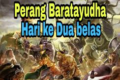 Sejarah Perang Baratayudha di Hari Ke Dua belas (ke-12), kisah Mahabharata