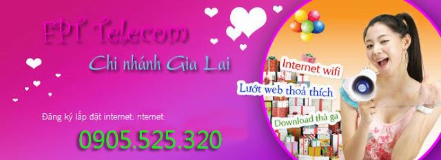 Lắp đặt internet fpt phường Thống Nhất, Pleiku