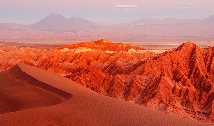 Foto Gurun Atacama Chili