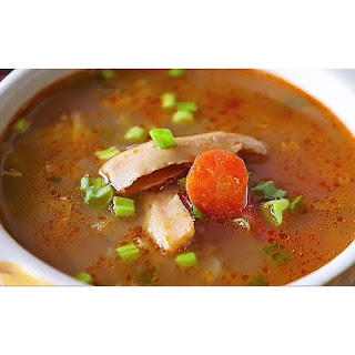 Homemade fish soup recipe