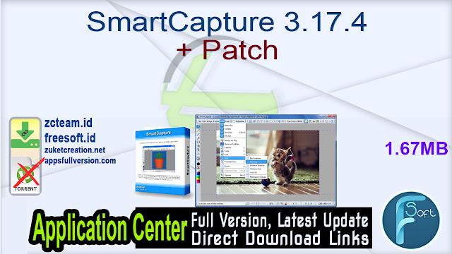 SmartCapture 3.17.4 + Patch_ ZcTeam.id