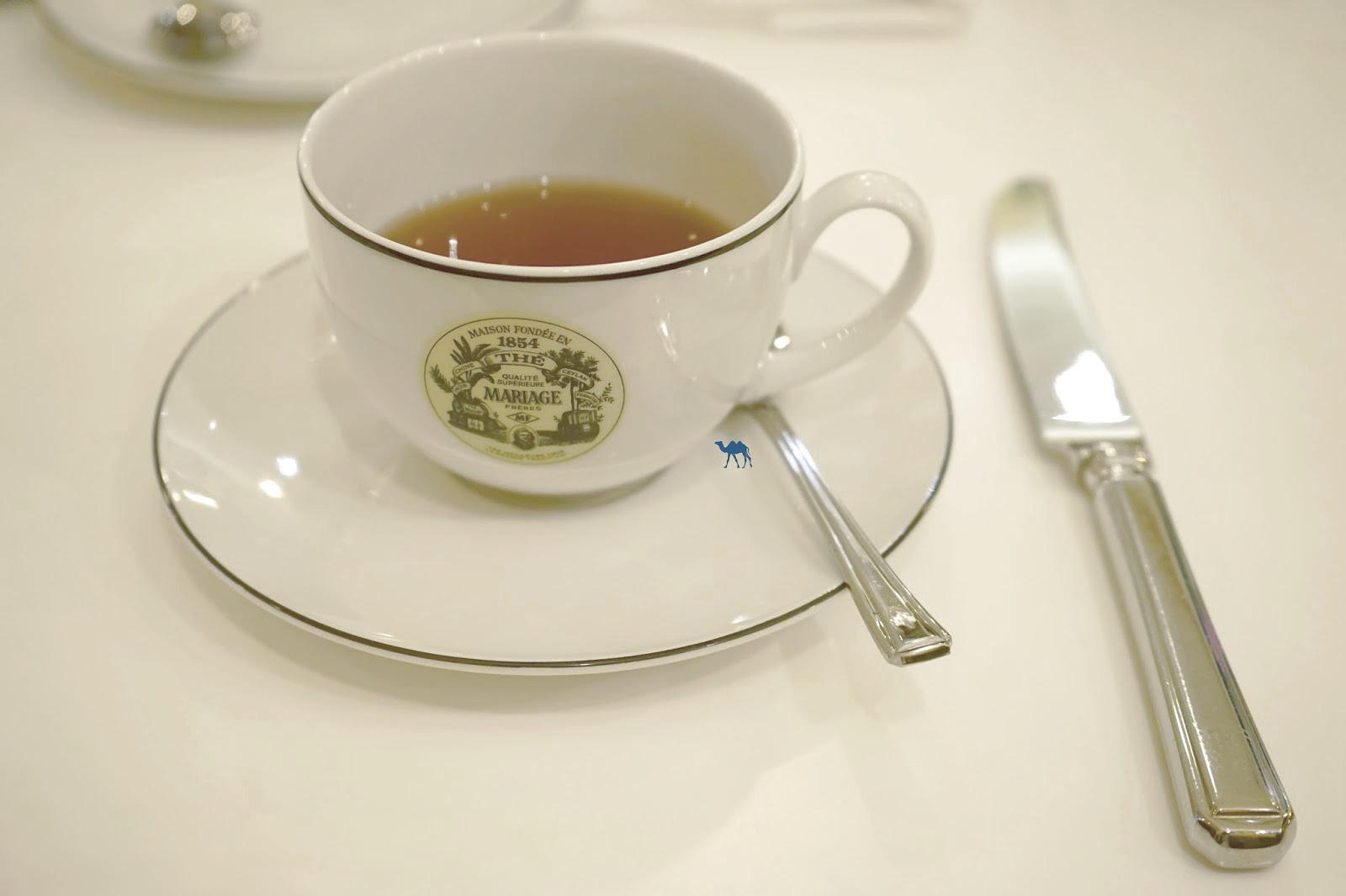 Le Chameau Bleu - Tea Time chez Mariage Frères Paris