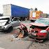 Mulher morre em colisão entre caminhonetes na BR-470