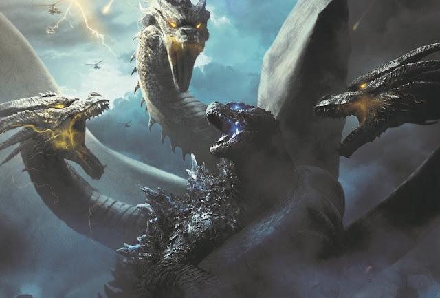 Estreias nos cinemas (30/5): Godzilla II - Rei dos Monstros, Rocketman, Ma & mais