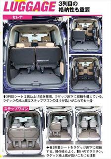 新型セレナ ステップワゴン 荷室ラゲッジ 広さ使い勝手 比較