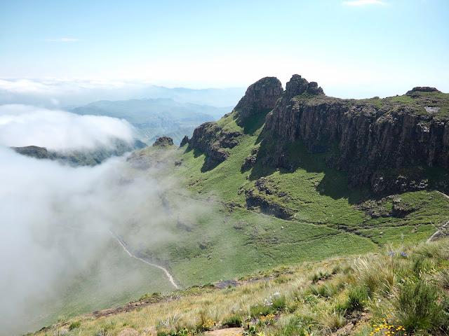 Sentinel Peak Amphitheatre hike, Drakensberg National Park, South Africa