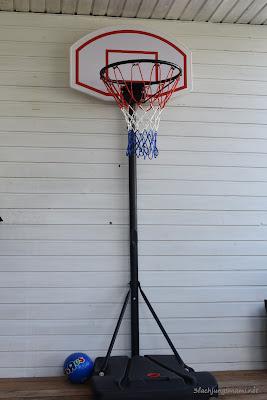Basketballkorb höhenverstellbar