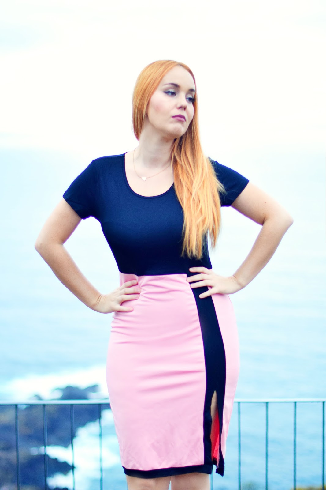 NERY HDEZ, fashionmia, wear to work look, pink dress