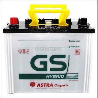 Harga Aki GS ASTRA terbaru