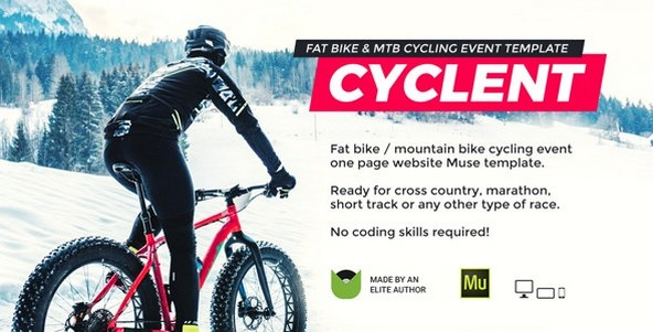 Cyclent v1.0 - Mountain Bike Event Template