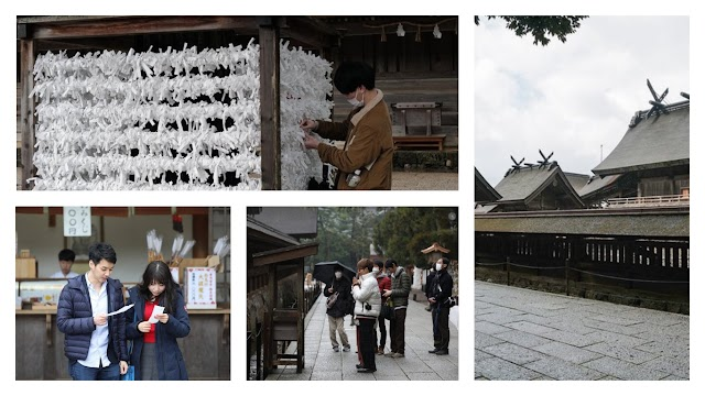The most famous temple of praying for love in Japan