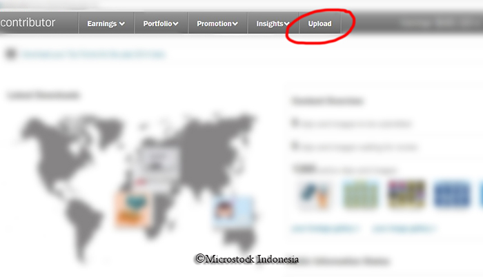Cara submit foto atau vector di Shutterstock