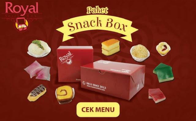 Pesan Snack Box di Manggarai