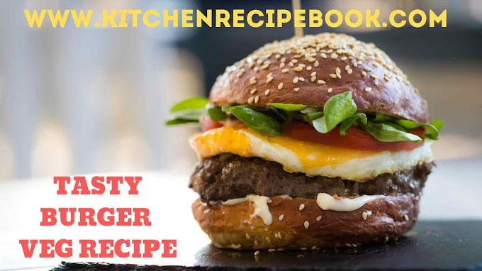 TASTY BURGER VEG RECIPE | MAKING OF TASTY BURGER VEG RECIPE
