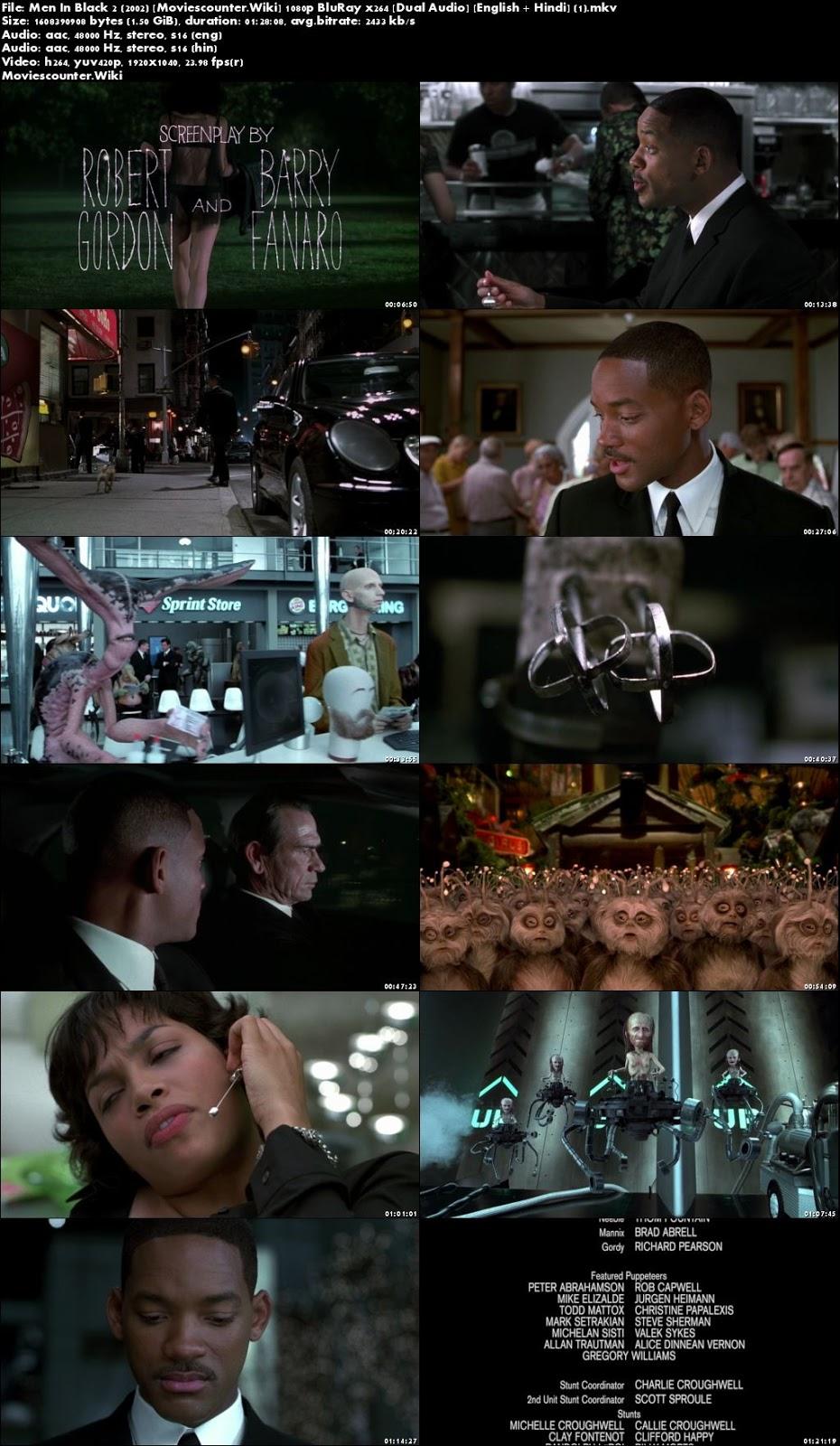 Screen Shots Men in Black II 2002 Dual Audio HD 1080p
