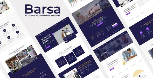 Best SEO & Digital Marketing Agency Template Kit