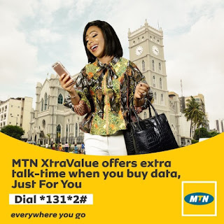 MTN XtraValue: How To Get N7,850 Airtime + 650MB Data for N2000 or N19500 Airtime + 1.5GB for N5000