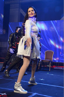 Sunny Leone Dancing on stage At Rogue Movie Audio Music Launch ~  032.JPG