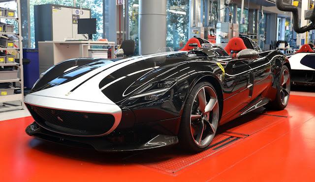フェラーリ 生産再開 モンツァSP2