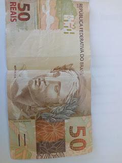 cedula de 50 reais