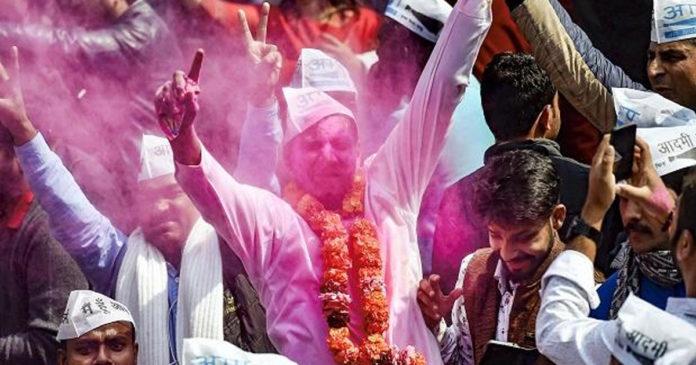 60 AAP crosses AAP; BJP defeats Deputy Chief Minister Manish Sisodia,www.thekeralatimes.com