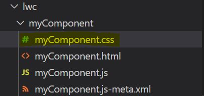 How to add styling to Lightning Web Component
