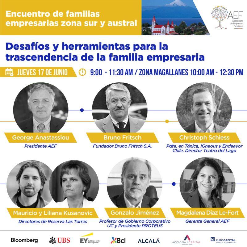 Reunión de empresarios familiares del sur de Chile