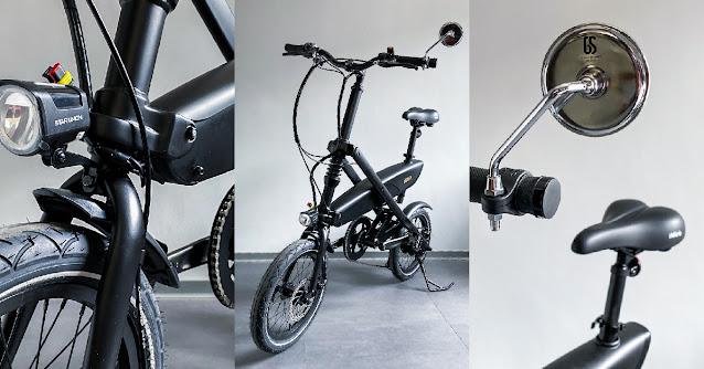 imiro電動自行車,自行車前後擋泥板
