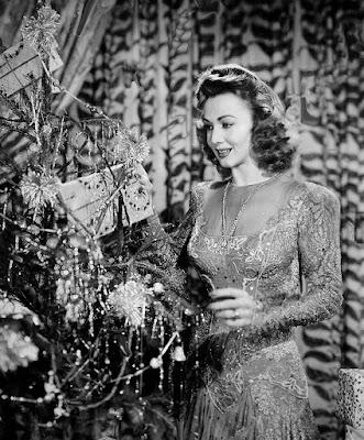 Carole Landis Christmas